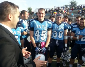 Elmhurst College Wins Roma Bowl
