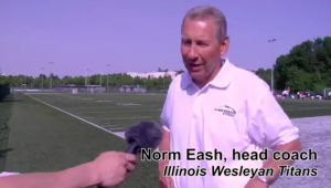 Illinois Wesleyan Coach Norm Eash About His Team's Visit To Finland