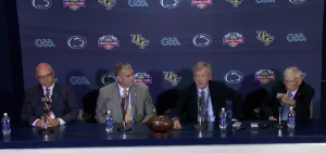 Video: Penn State Croke Park Classic Press Conference