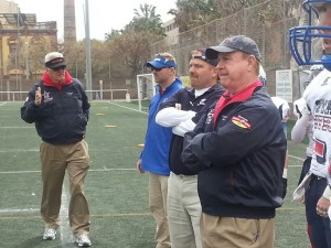 Team Stars & Stripes Wins Global Bowl Spain 46-7