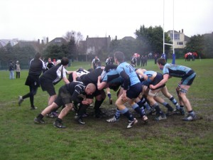 Fenwick Friars Play First Game In ireland