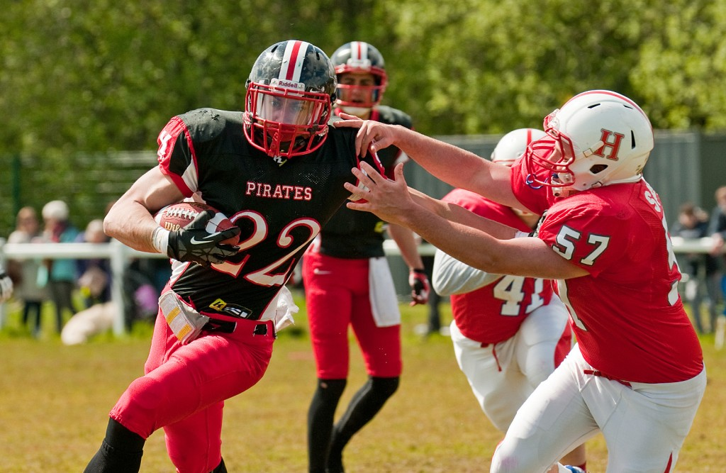 Hanover Panthers Defeat Spirited East Kilbride Pirates