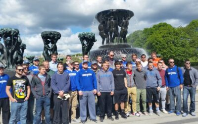 Luther College Norse Arrive In Scandinavia With Global Football