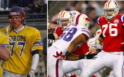 Global Football Alum Protects Tom Brady As 2015 NFL Season Opens