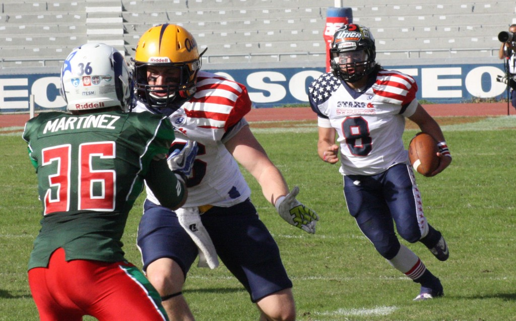 Former Team Stars & Stripes QB Lines Up For CONADEIP All-Stars