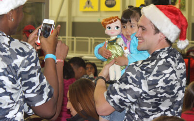Team Stars & Stripes Bring Happy Holidays To Local Orphanage