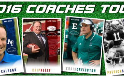 Patrick Steenberge Joins NFL & College Coaches On Military Tour