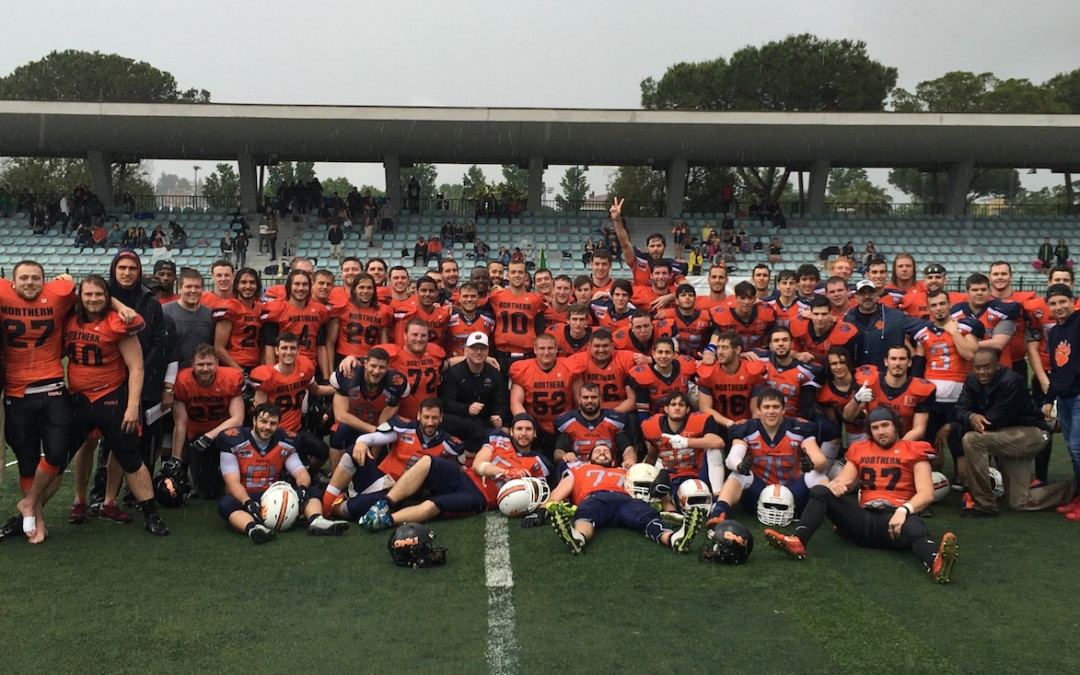 Ohio Northern Wins Scrimmage In Rome