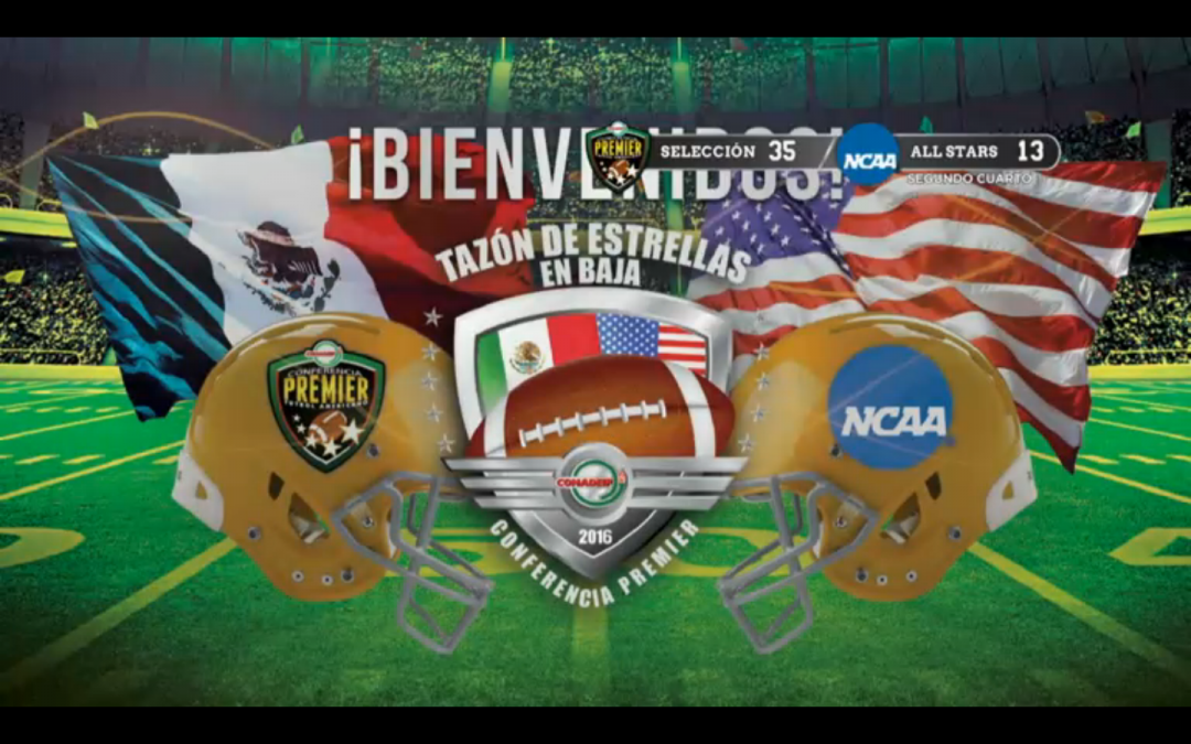 Tazón De Estrellas Halftime Recap: CONADEIP All Stars 35 Team Stars & Stripes 13