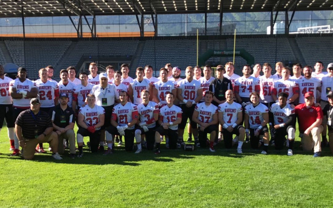 Ravens and Blue Streaks Win in Austria and Barcelona