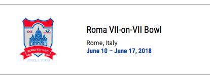 Roma Bowl 2018