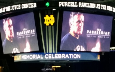 Notre Dame Alumni Celebrate The Life of Ara Parseghian