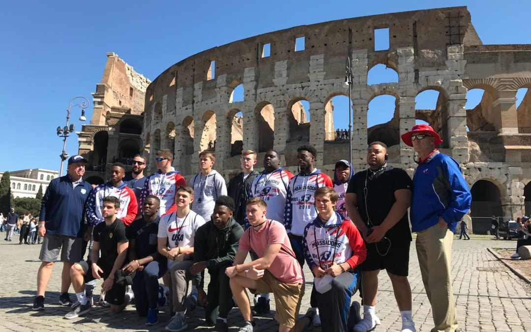 Seven Schools Travel To Europe In 2019