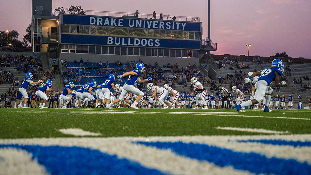 Drake University Heads To China With Global Football