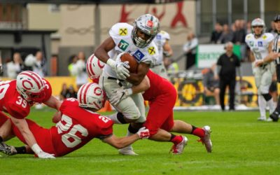 Swarco Raiders Edge Central Dutch 31-27 In Thriller In Innsbruck
