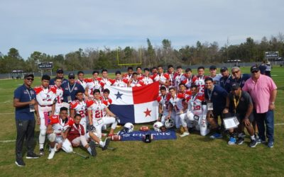 Panama Sharks Win Pop Warner International Super Bowl